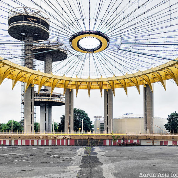 Remnants of the World's Fair TourNY State World's Fairs Pavilion Flushing Meadows Corona Park