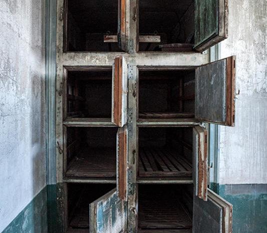 Ellis Island Abandoned Hospital morgue