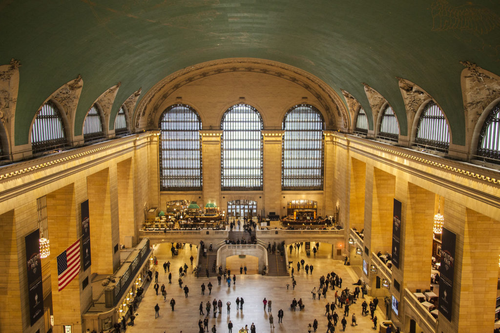 View of Grand Central Terminal's atrium