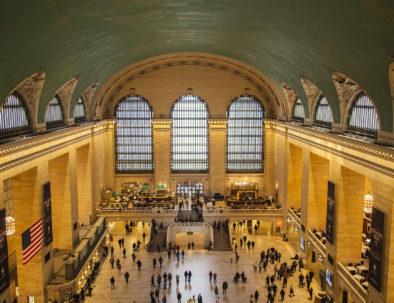 View of Grand Central Terminal's atrium