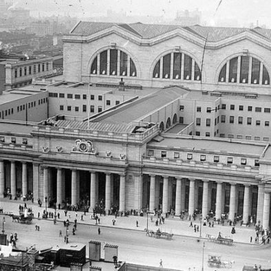 Aerial View of the old Penn Station