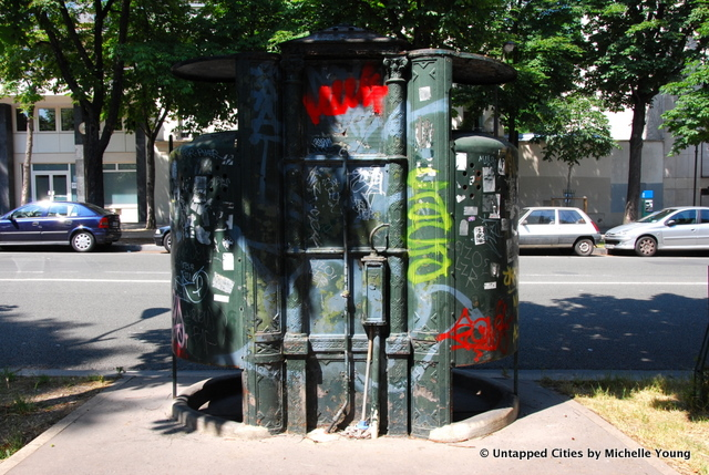I NEED TO PEE!: Public Toilets in Paris