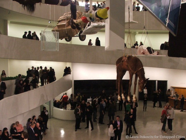IN PICTURES: Maurizio Cattelan at the Guggenheim