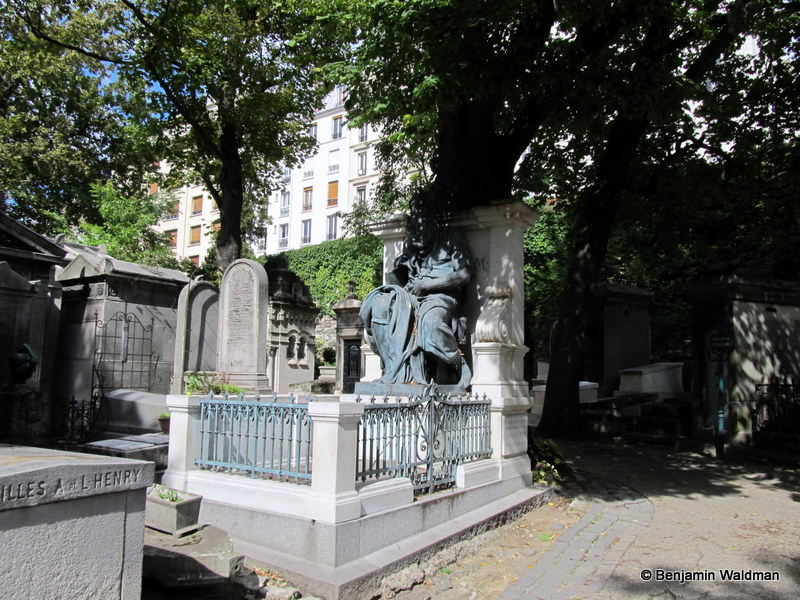 The Treasures of the Montmartre Cemetery