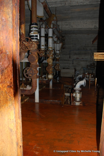 looks like an old water/power facility for the resort!
