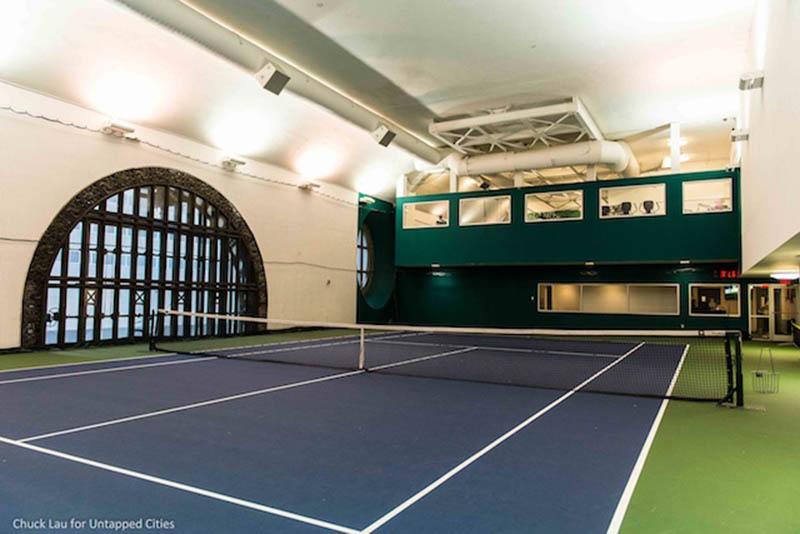 Grand Central Vanderbilt tennis court Untapped New York
