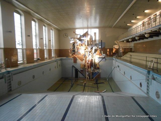 Berlin 39 s stattbad a former pool repurposed as cultural for Repurposed swimming pool