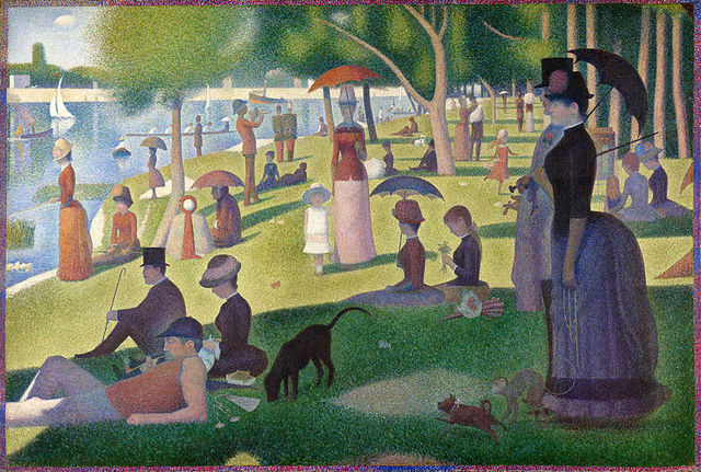 A Sunday on La Grande Jatte-Georges Seurat-Paris