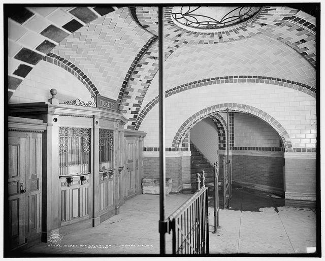 Vintage Photos: City Hall Subway Station