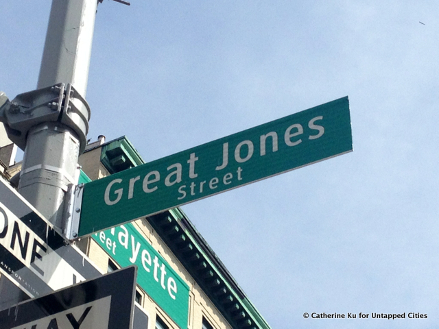Great-Jones-Street-History of Streets-New York City-East Village-West Village-Untapped Cities