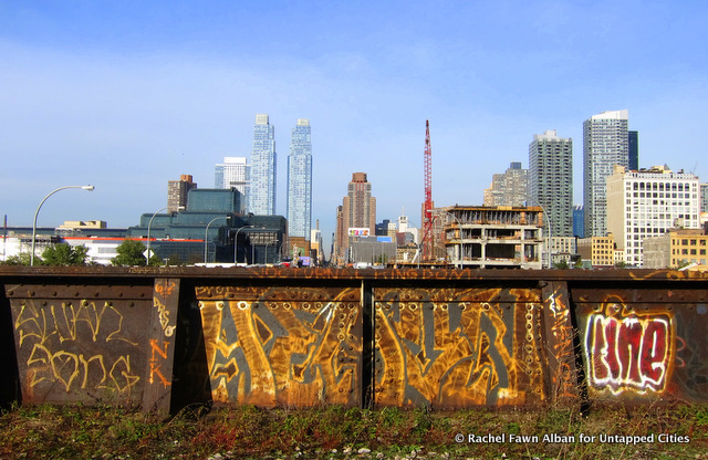 High Line Section 3 - Hudson Rail Yards - Graffiti - Carol Bove Art Tour -  Untapped Cities- Rachel Fawn Alban-018