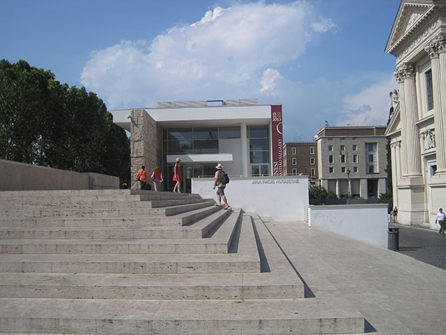 Untapped Cities Rome Ara Pacis E Ryan museum plaza