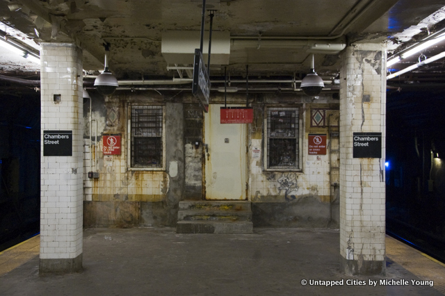 Nyc S Abandoned Subway Stations The Chambers Street