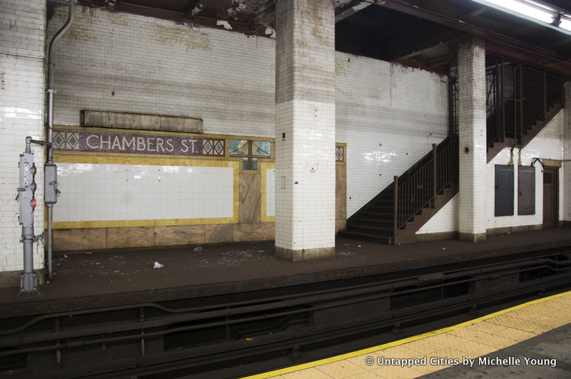 Abandoned Subway Platforms-Levels-NYC-Chambers Street_7