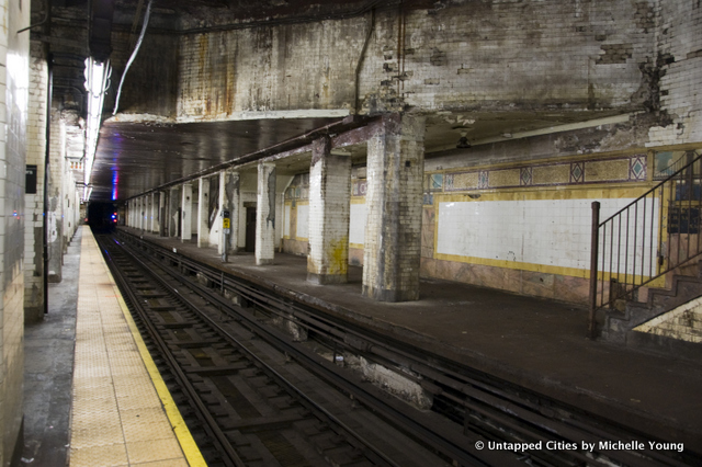 NYC's Abandoned Subway Stations: The Chambers Street Disused Platform
