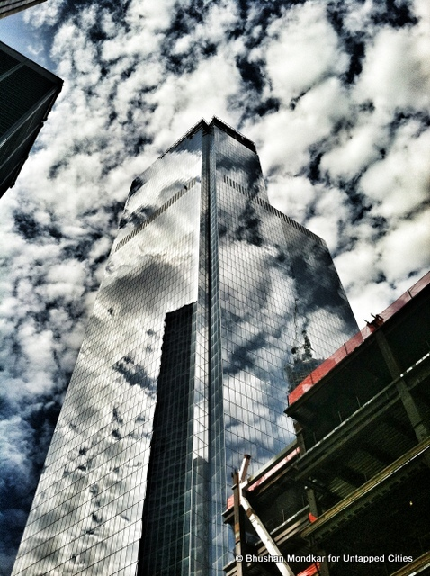 4 World Trade Center: Photographic Journey from Ground Zero to 978 ft