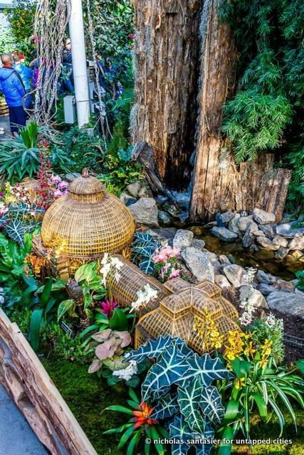 Bronx Botanical Garden Train Show-Enid A. Haupt Conservatory-NYC