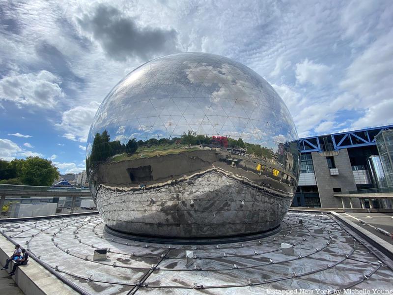 La Geode in Parc de la Villette