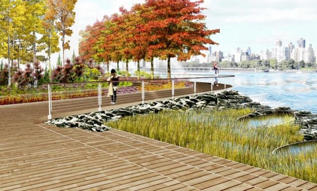 Hallets Point-Queens-Astoria-Rendering-James Corner Field Operations-NYC