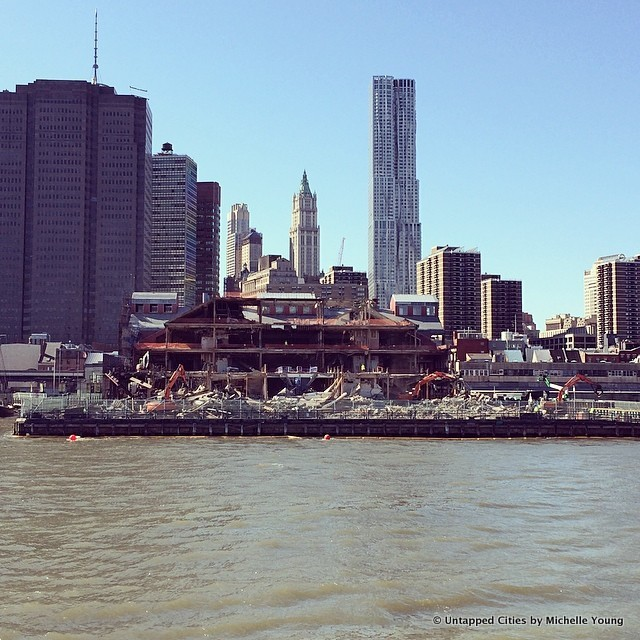 Daily What?! South Street Seaport Mall at Pier 17 Demolition Fully Underway
