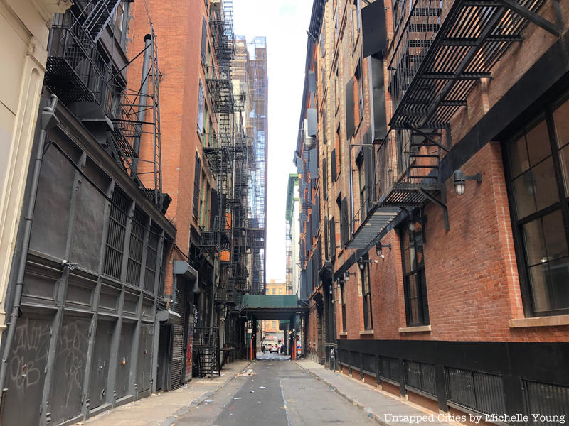 The Secrets of Chinatown's Cortlandt Alley in NYC