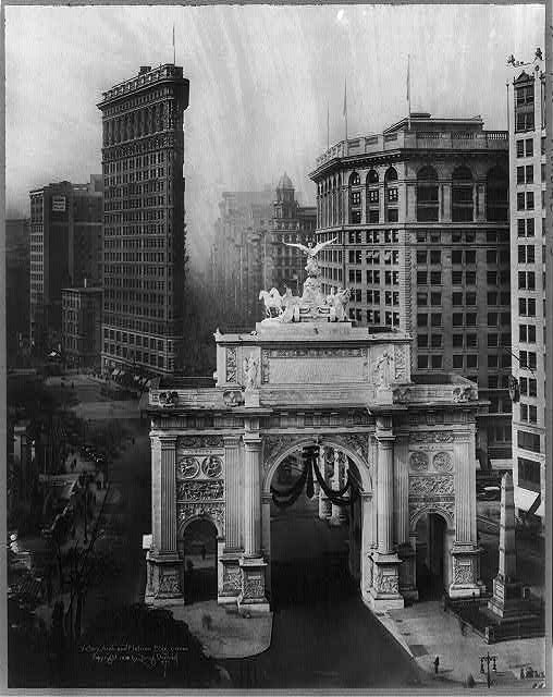"Daily What?! The Flatiron's Mysterious ""Victory Arch"" at Madison Square Park"