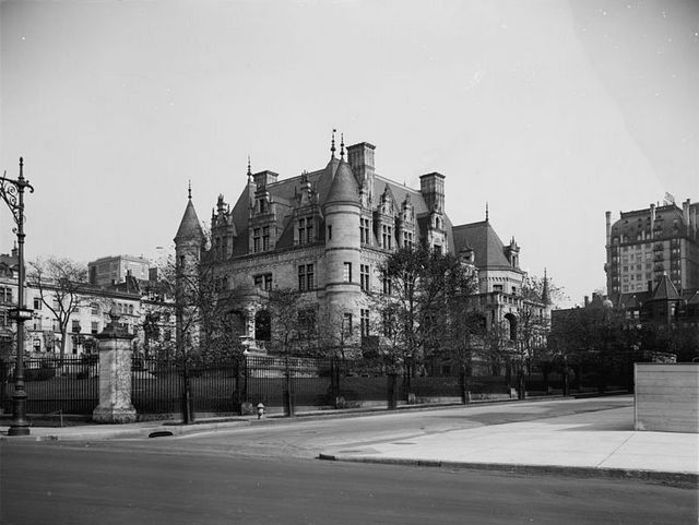 Charles M. Schwab House-Riverside Drive-Demolished-NYC
