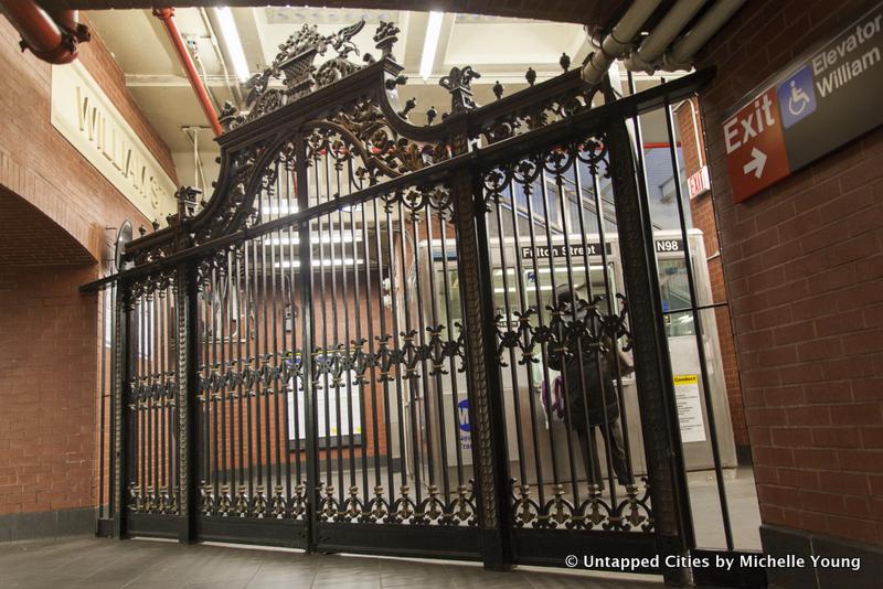 Fulton Center-Fulton Street Subway Station-William St-Hotel McAlpin-Marine Grill-Gate-Herald Square-NYC