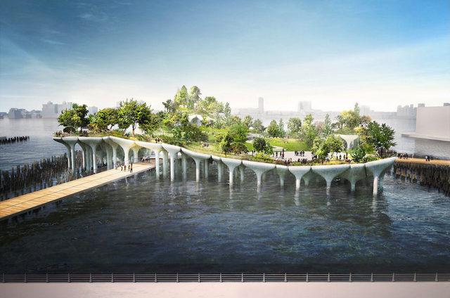 "Futuristic ""Pier55"" Park Coming to Hudson River Park"