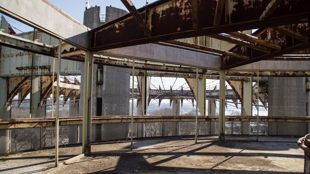New YOrk State Pavilion-Abandoned Observation Towers-Flushing Meadows Corona Park-Queens-Robert Fein-NYC-002