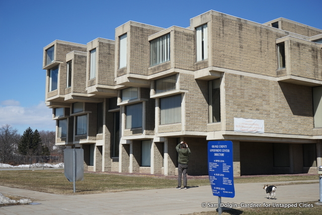 Orange County Government Center-Goshen-Hurricane Irene-FEMA-Paul Rudolph-Brutalism-NY-007