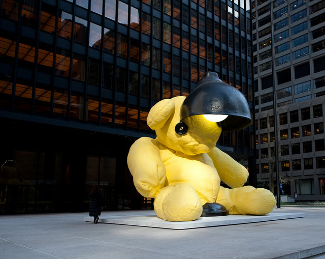 8 Bear Sculptures and Monuments in NYC