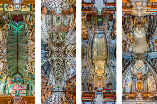NYC's Churches Through a New Lens: Vertical Panorama Photographs by Richard Silver