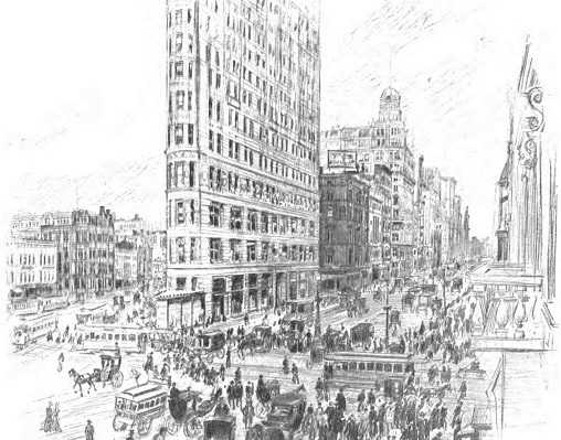 The Artist Who Captured Early 20th Century NYC: 15 Sketches by Vernon Howe Bailey