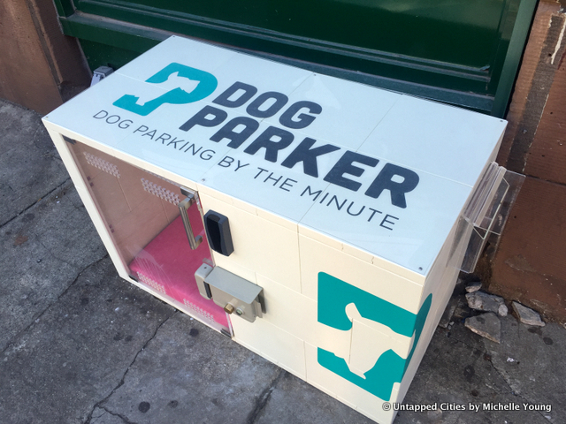 Dog Parker Boxes to Store Your Pup by the Minute Pop Up in Brooklyn