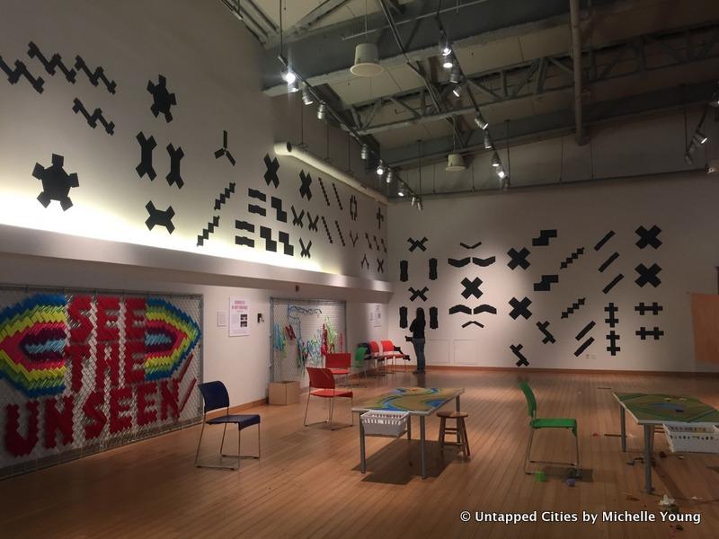 Elizabeth Hamby-Alphabet City-NYCHA Public Housing Project-Footprints-Vinyl-Brooklyn Children's Museum-NYC-002