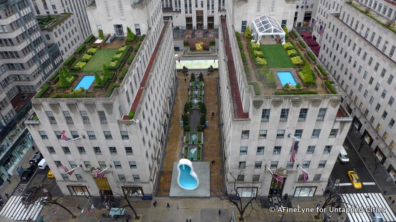 hidden rooftop gardens at rockefeller center, secrets of new york city