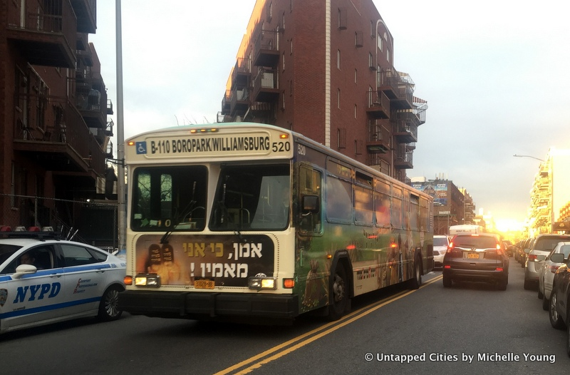 B-110 Bus Line Route-Hasidic Jewish Community-Private Transportation Company-Sex Segregation-Williamsburg-Sunset Park-Borough Park-NYC-3