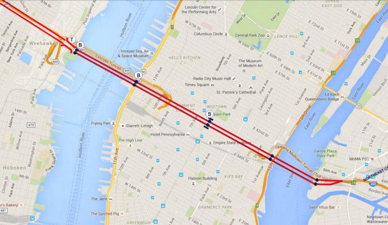 Bridge Over Manhattan-Empire State Gateway-New Jersey-Queens-NYC-2