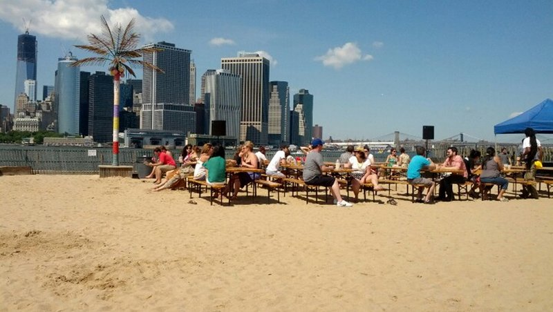 7 Man Made Beaches in NYC
