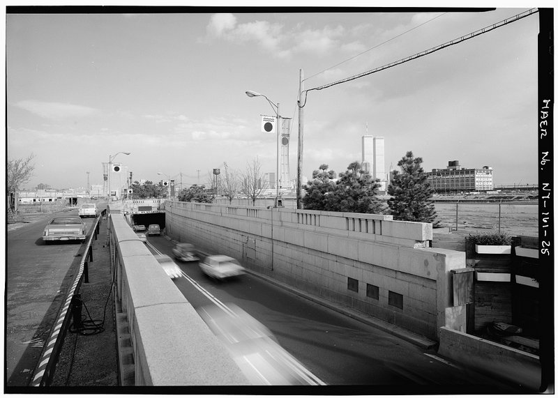 Holland Tunnel-Approach-New Jersey-New York-Canal Street-NYC