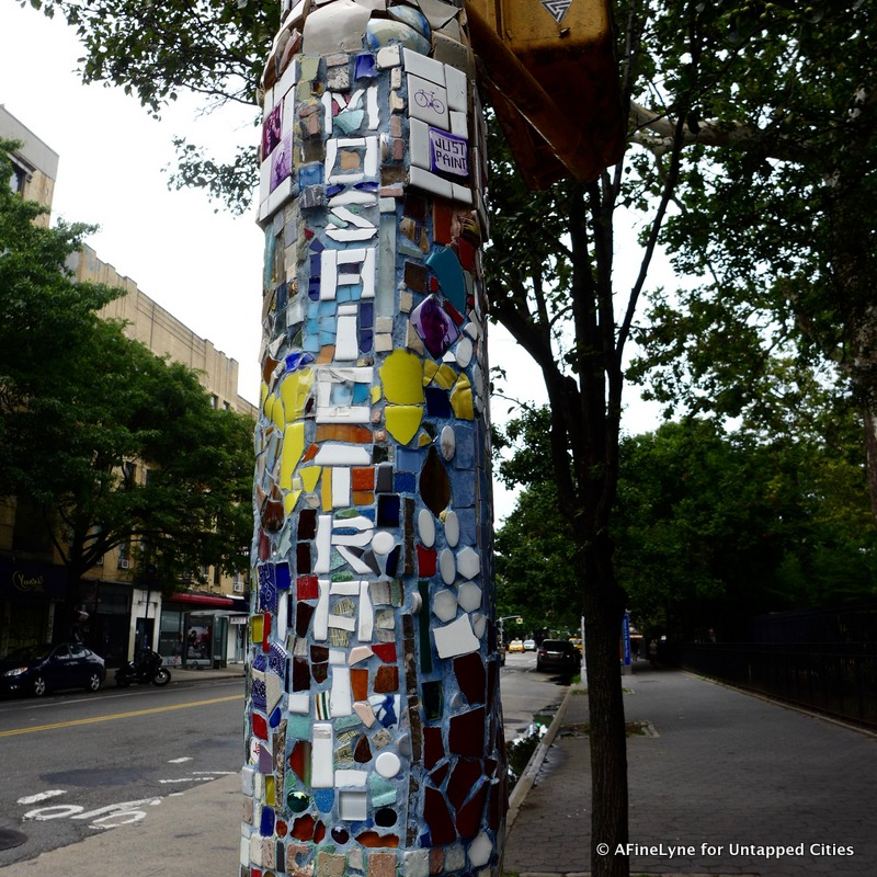 Mosaic Trail East Village Untapped Cities AFineLyne