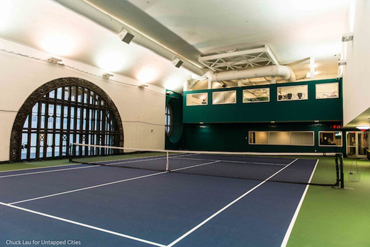 A Look at the Hidden Tennis Courts of Grand Central Terminal, Once ...