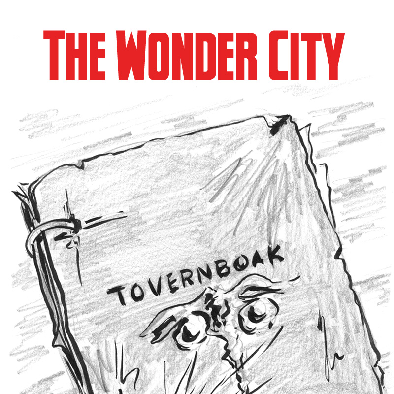 The Wonder City Web Comic: The Great Whale of Coney Island, Chapter 3-Installment #1