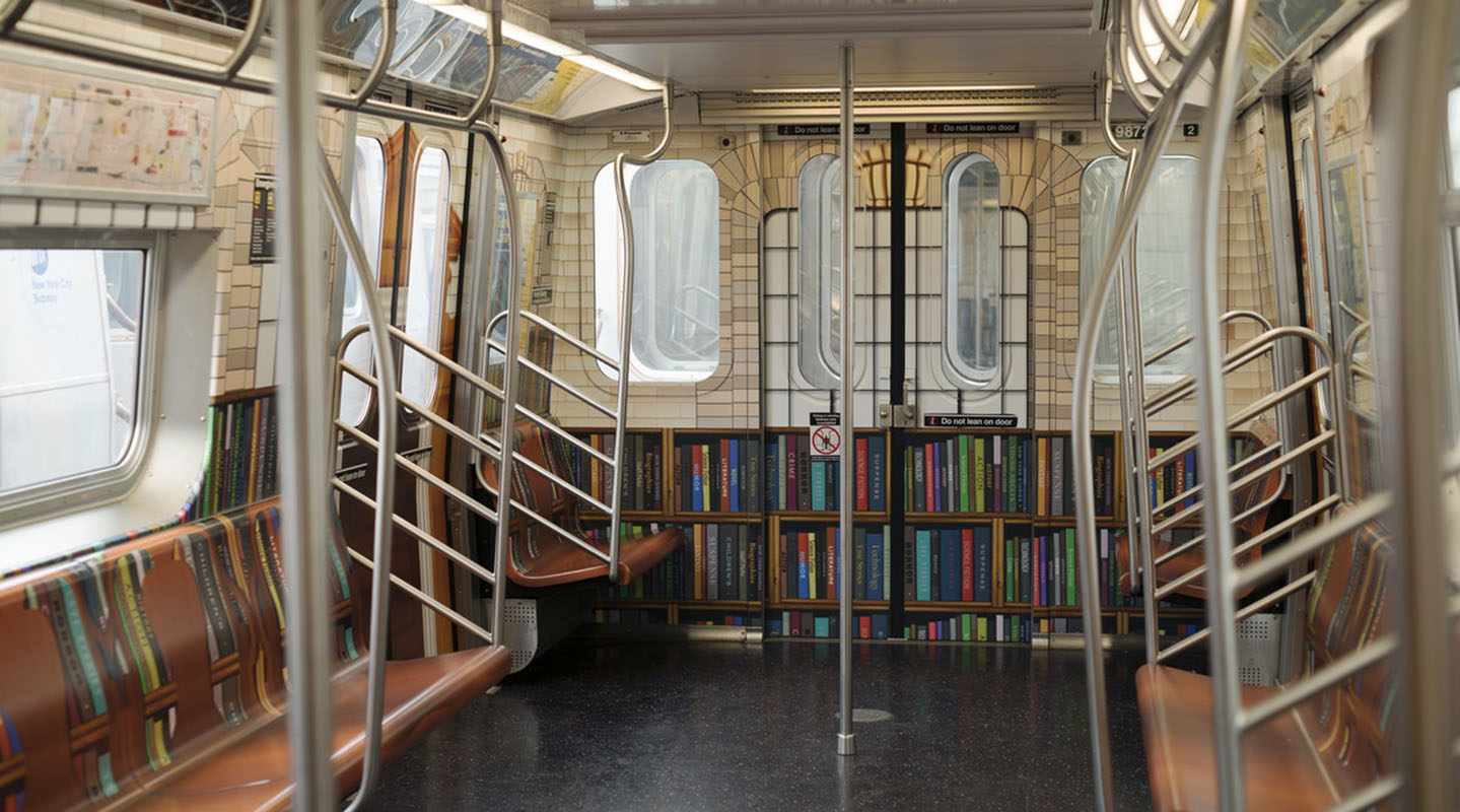 "The NYPL is Bringing Books Underground With the ""Subway Library"""