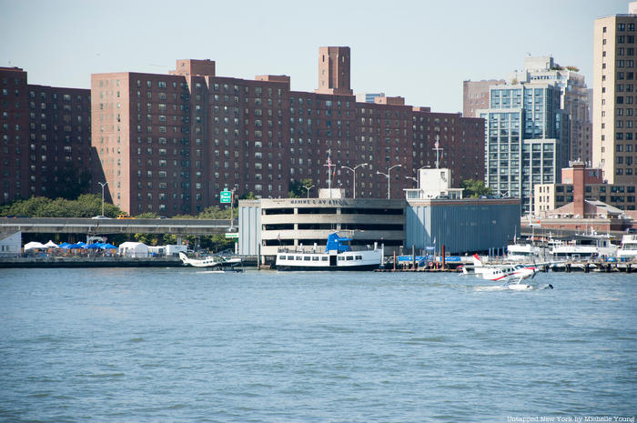 Marine Aviation Terminal on East River