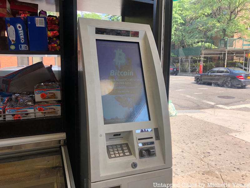 A Bitcoin ATM Has Arrived at a NYC Deli