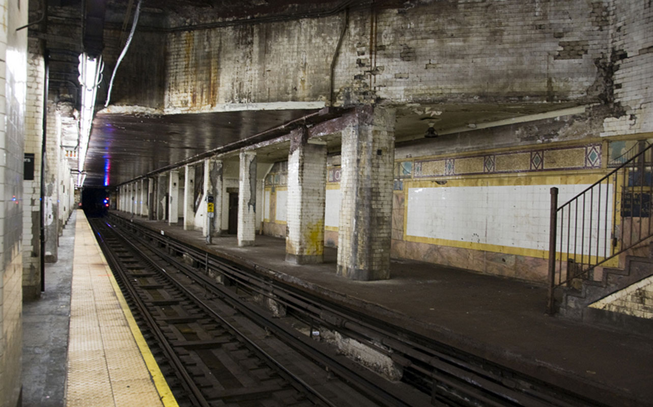 10 of NYC's Abandoned and Incomplete Subway Platforms and Levels