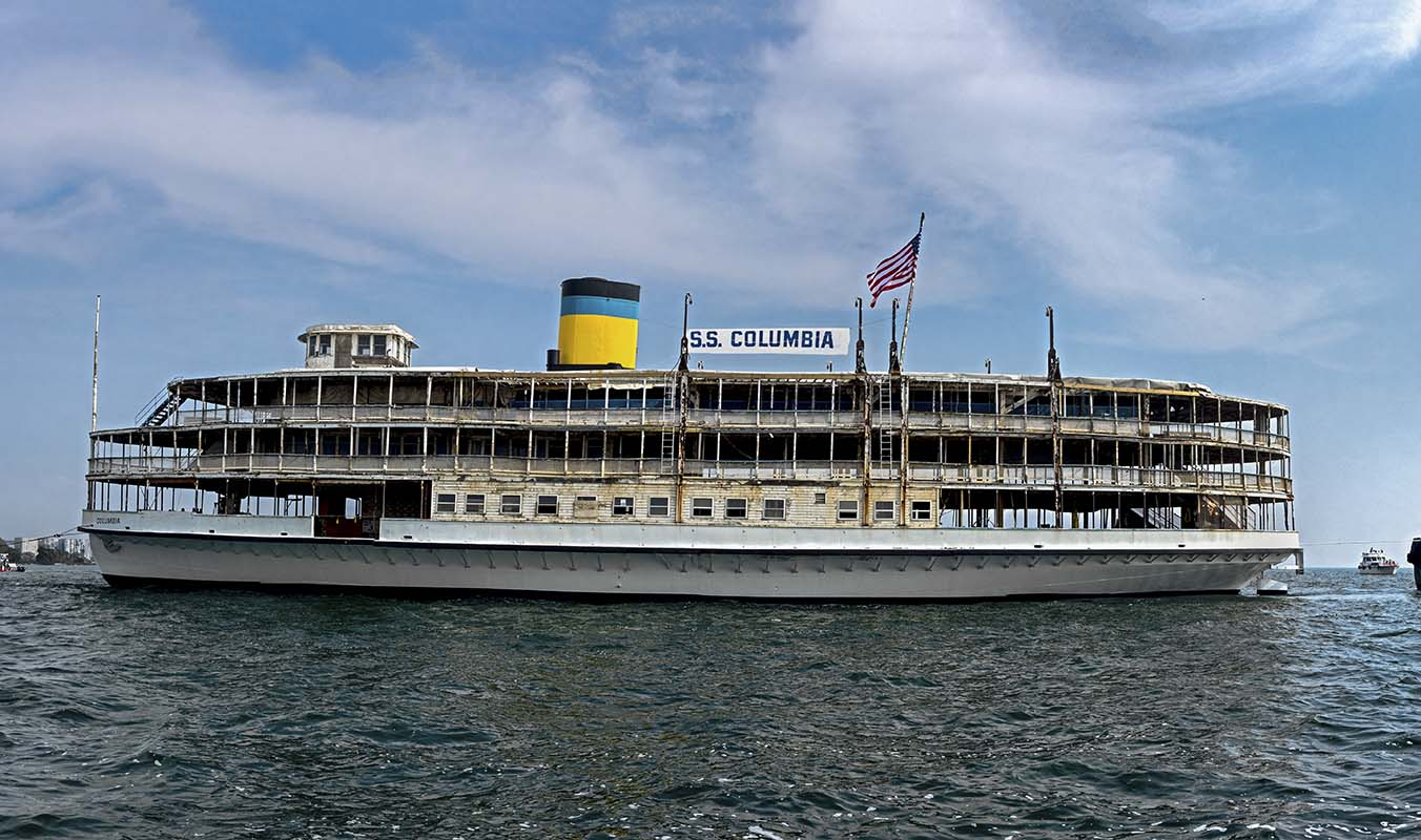 Glory Be Columbia, a Play About America's Oldest Surviving Passenger Steamship Debuts