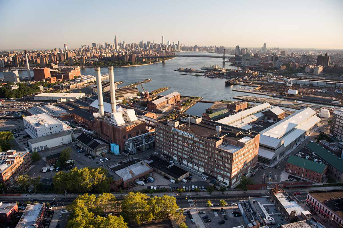 Inside Brooklyn Navy Yard's Massive Expansion Plan Underway